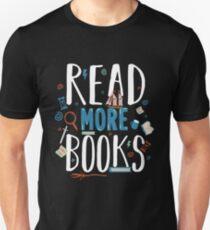 Read more books Slim Fit T-Shirt