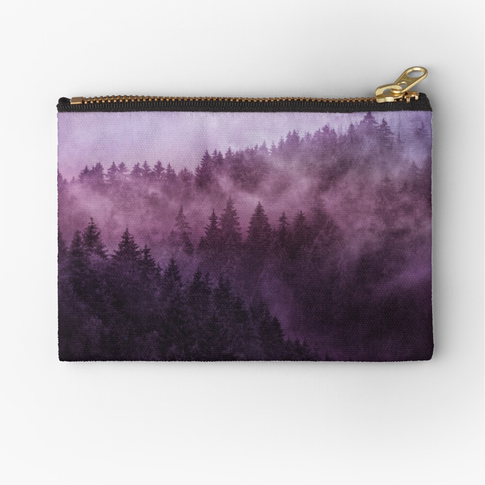 Excuse Me, I'm Lost // Laid Back Edit Zipper Pouch