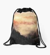 In My Other World Drawstring Bag