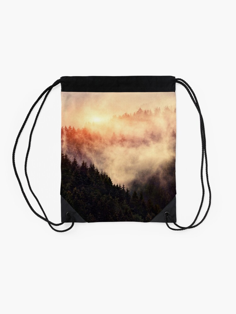 Alternate view of In My Other World Drawstring Bag