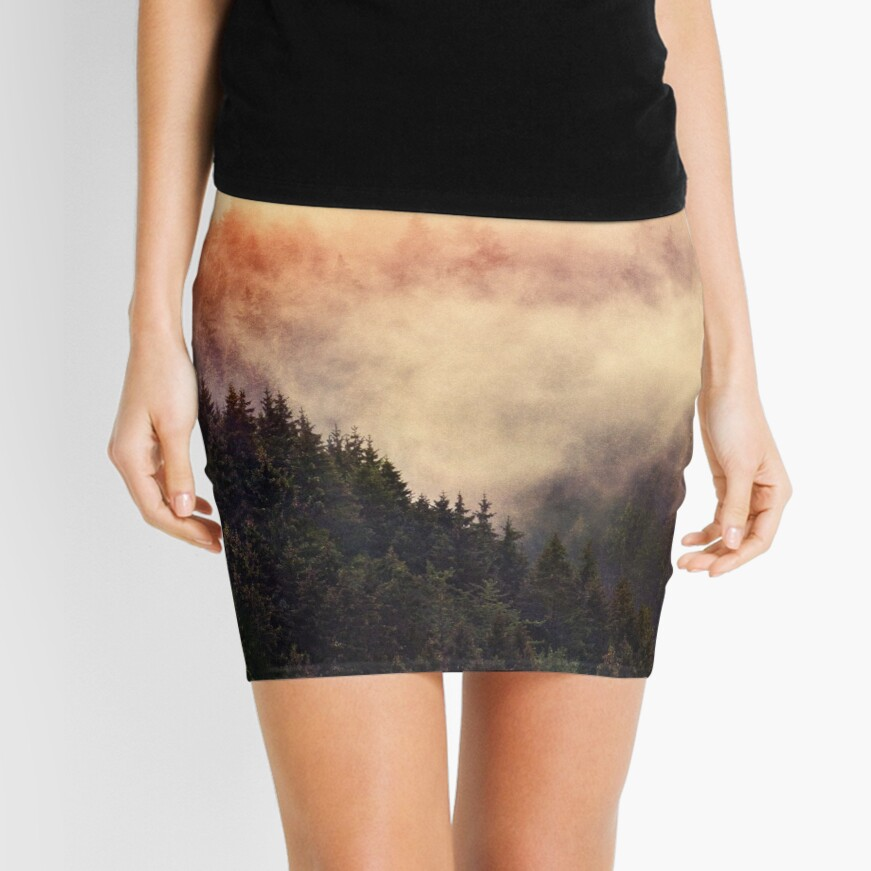 In My Other World Mini Skirt