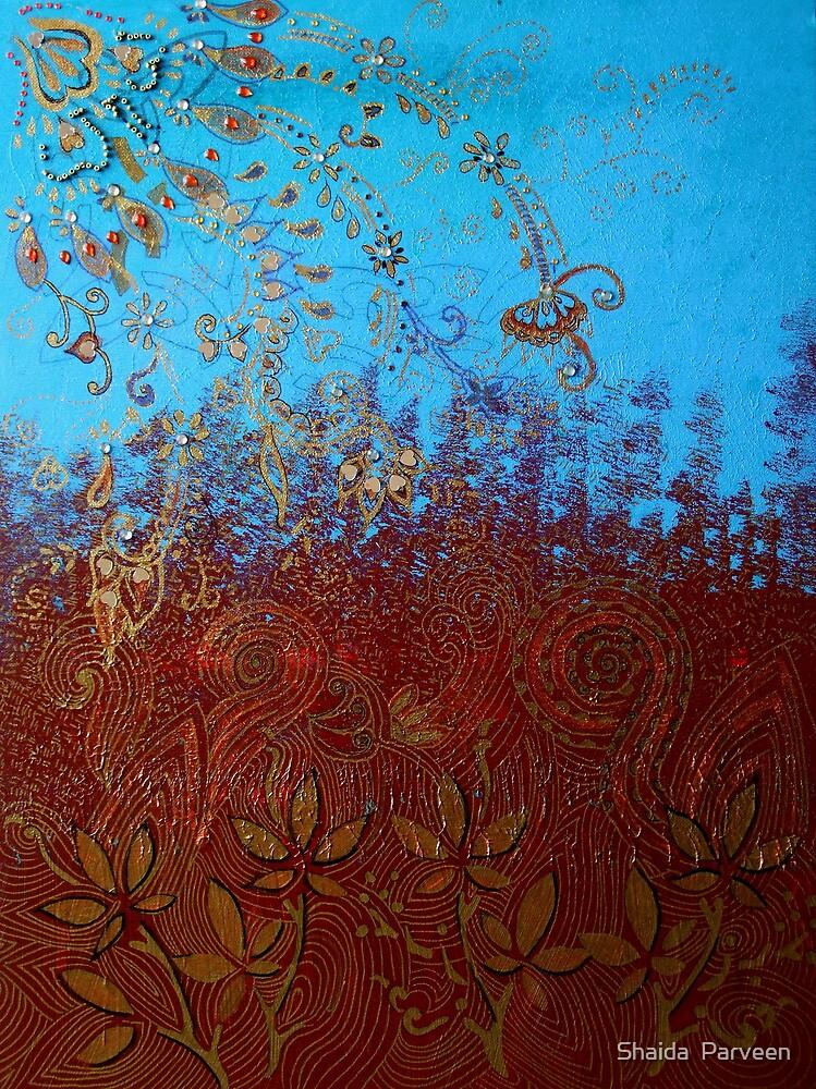 'Mystical Fields' by Shaida  Parveen