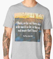 Tom Petty Music Quote Men's Premium T-Shirt