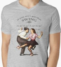 Lindy Hop Men's V-Neck T-Shirt