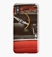 Driving seat iPhone Case/Skin