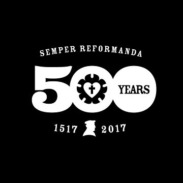 Semper Reformanda 500 Years Reformation Luther Rose by DOODL
