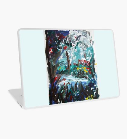The Swimming Hole Laptop Skin
