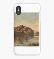 Nielsen, Amaldus Clarin (1838-1932), the coast iPhone Case/Skin