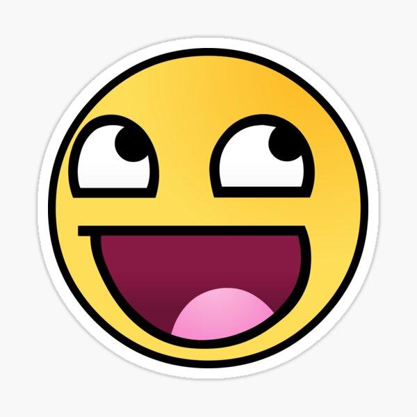 Awesome face emoji Pegatina