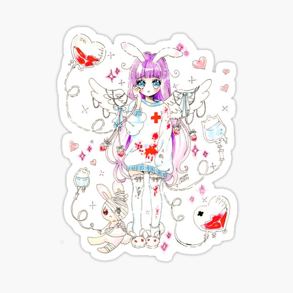 Medic Angel Sticker