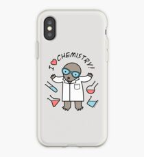 I Heart Chemistry - Scientist Chemist Mole iPhone Case