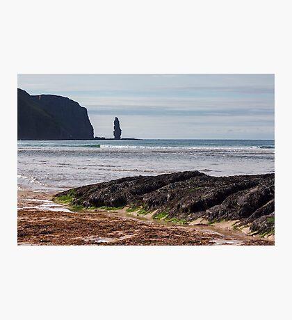 Sandwood Bay Sea Stack Photographic Print