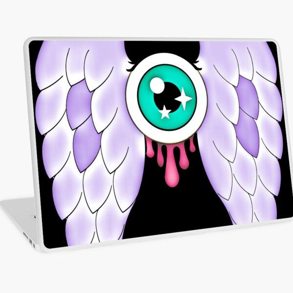 Pastel Goth | Winged Eye | Black Laptop Skin