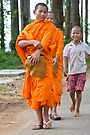 Young Monks by Werner Padarin