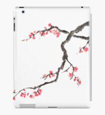 Blushing maid sumi-e painting iPad Case/Skin