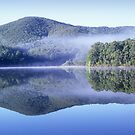 Lake Muratore reflection by Travis Easton