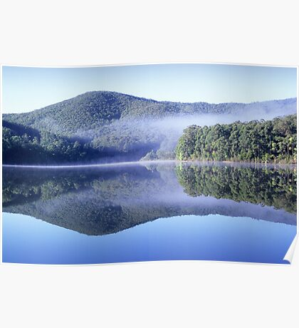 Lake Muratore reflection Poster