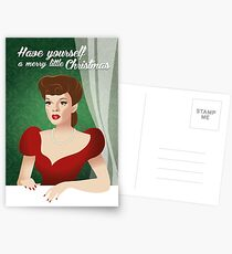 Have yourself a merry little Christmas Postcards