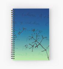 Darwin Thinks Spiral Notebook