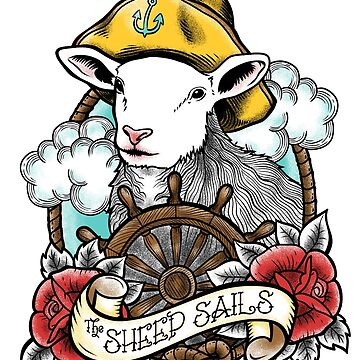 The Sheep Sails by ursulalopez