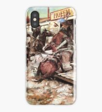 In Without Knocking iPhone Case