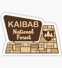 Kaibab National Forest Sticker