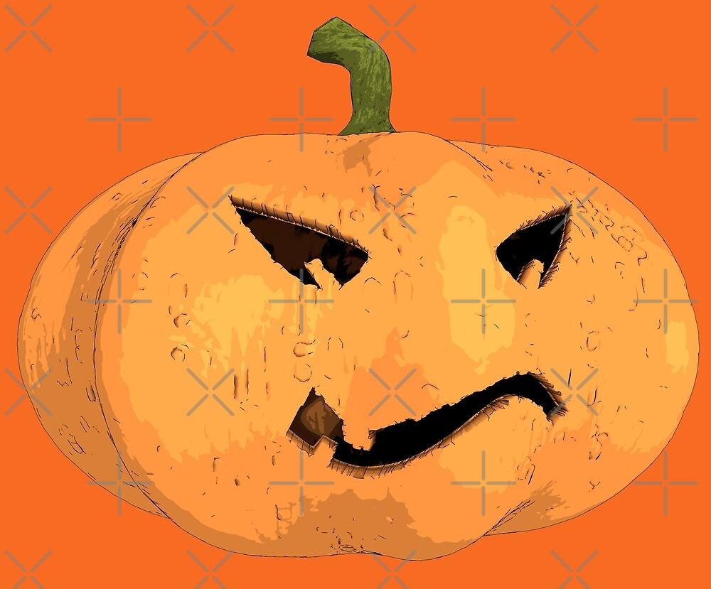Halloween Kürbis von cglightNing