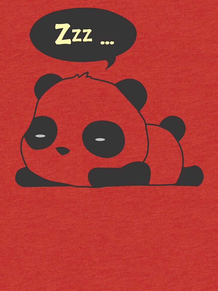 Sleeping panda by culturageekstor