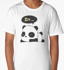 Sleeping panda Long T-Shirt
