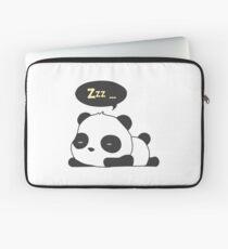 Sleeping panda Laptop Sleeve