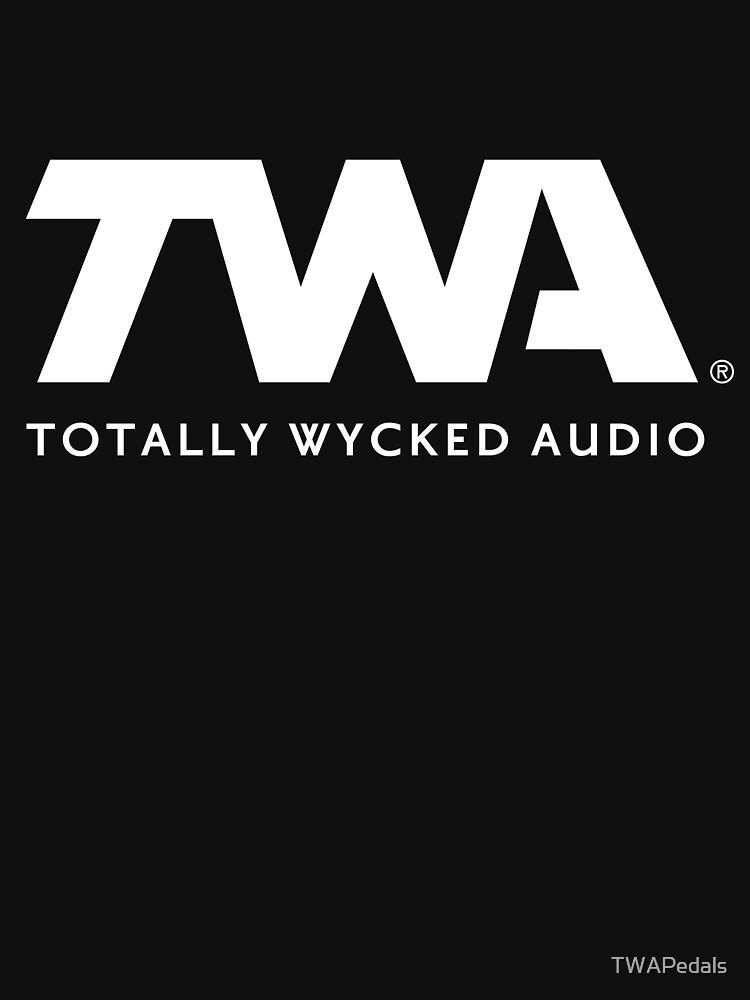 TWA Logo Merchandise by TWAPedals