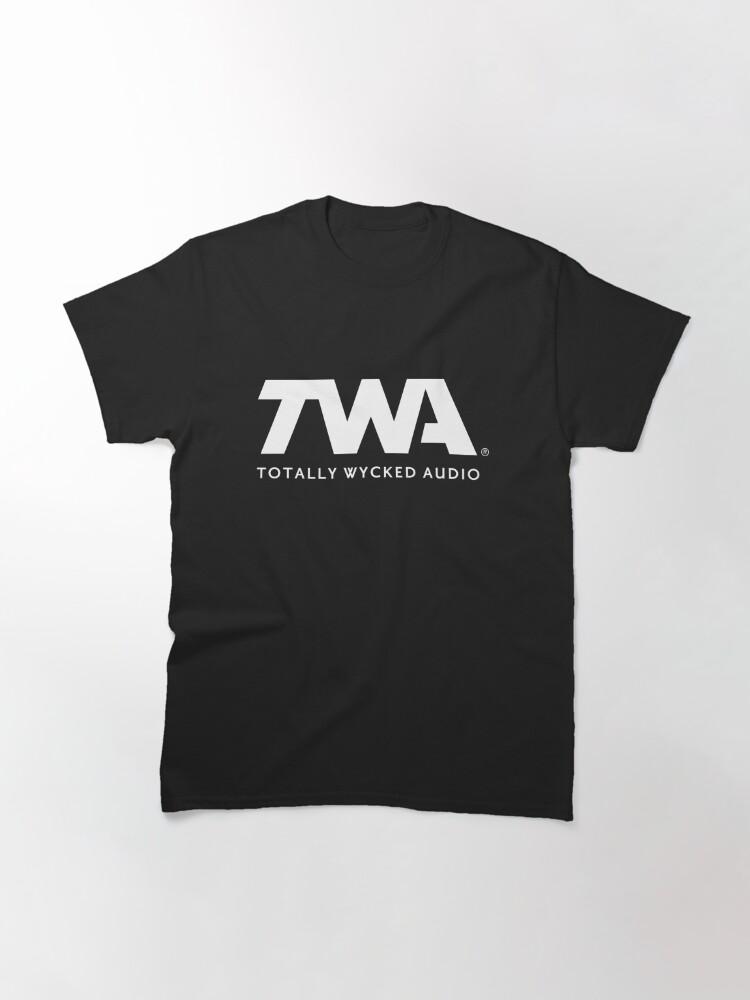 Alternate view of TWA Logo Merchandise Classic T-Shirt