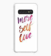 mehr Selbstliebe Hülle & Klebefolie für Samsung Galaxy