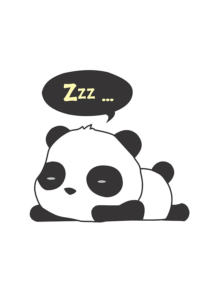 Sleeping panda by culturageekstor