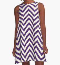 LSU Chevron Gameday Dress 4 A-Line Dress