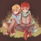 Mystic Messenger - Yooran Autumn Leaves by Blimpcat