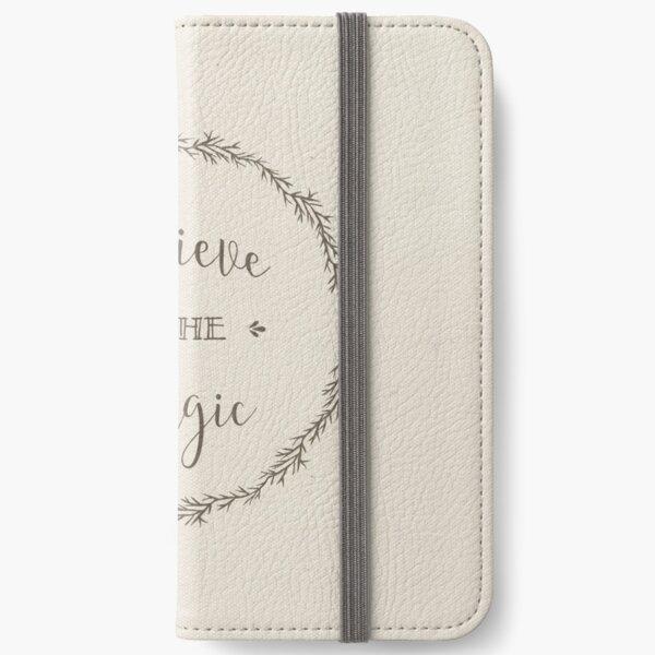 Believe in the Magic iPhone Wallet