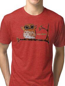 Don't Shoot Owl Tri-blend T-Shirt