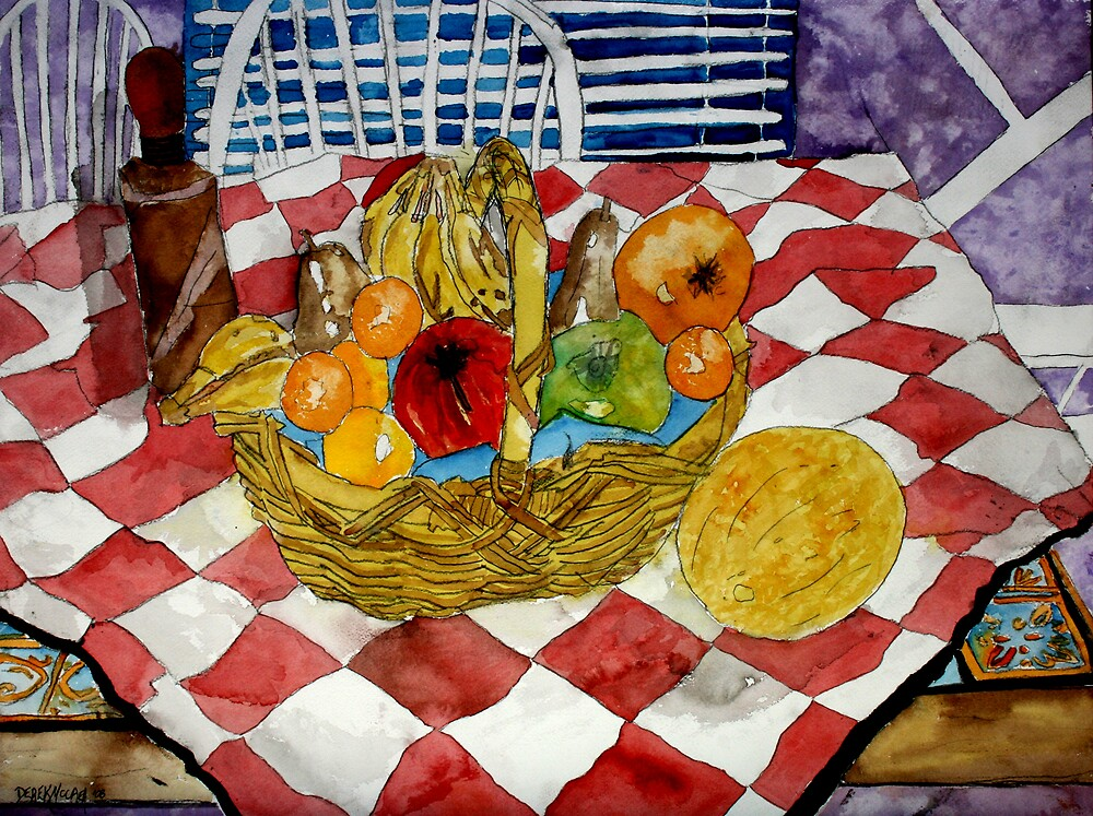 still life fruit 3 by derekmccrea