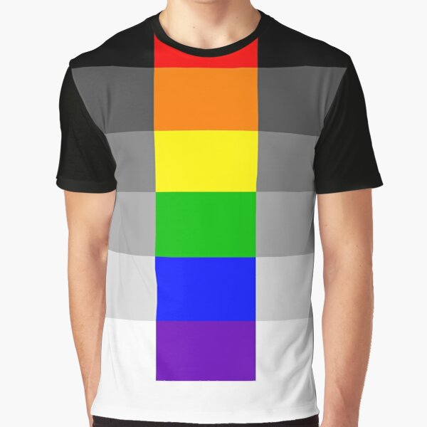 Heteroflexible Pride Flag Graphic T-Shirt