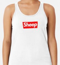 Sheep (iDubbbz Merch) Supreme Racerback Tank Top