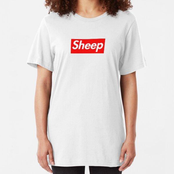 Sheep (iDubbbz Merch) Supreme Slim Fit T-Shirt