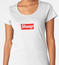Sheep (iDubbbz Merch) Supreme Women's Premium T-Shirt