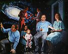 "Surreal Illumination Beyond Ursa Major - oil on canvas - 40"" x 32"" by Dave Martsolf"