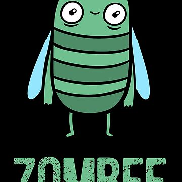 Zombie Bee Halloween  by piratart