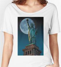 Liberty Moon Women's Relaxed Fit T-Shirt