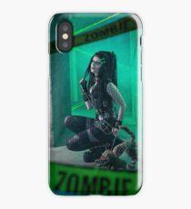 Gothic Zombie - Halloween series 03 iPhone Case/Skin