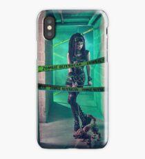 Gothic Zombie - Halloween series 02 iPhone Case/Skin