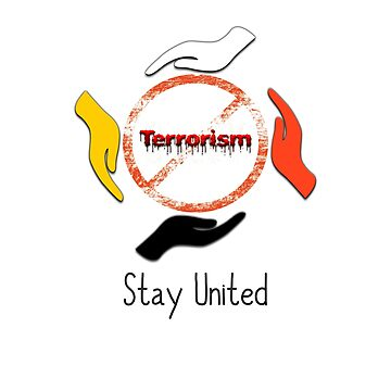 No to terrorism by Droovinci