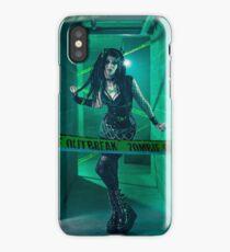 Gothic Zombie - Halloween series 01 iPhone Case/Skin